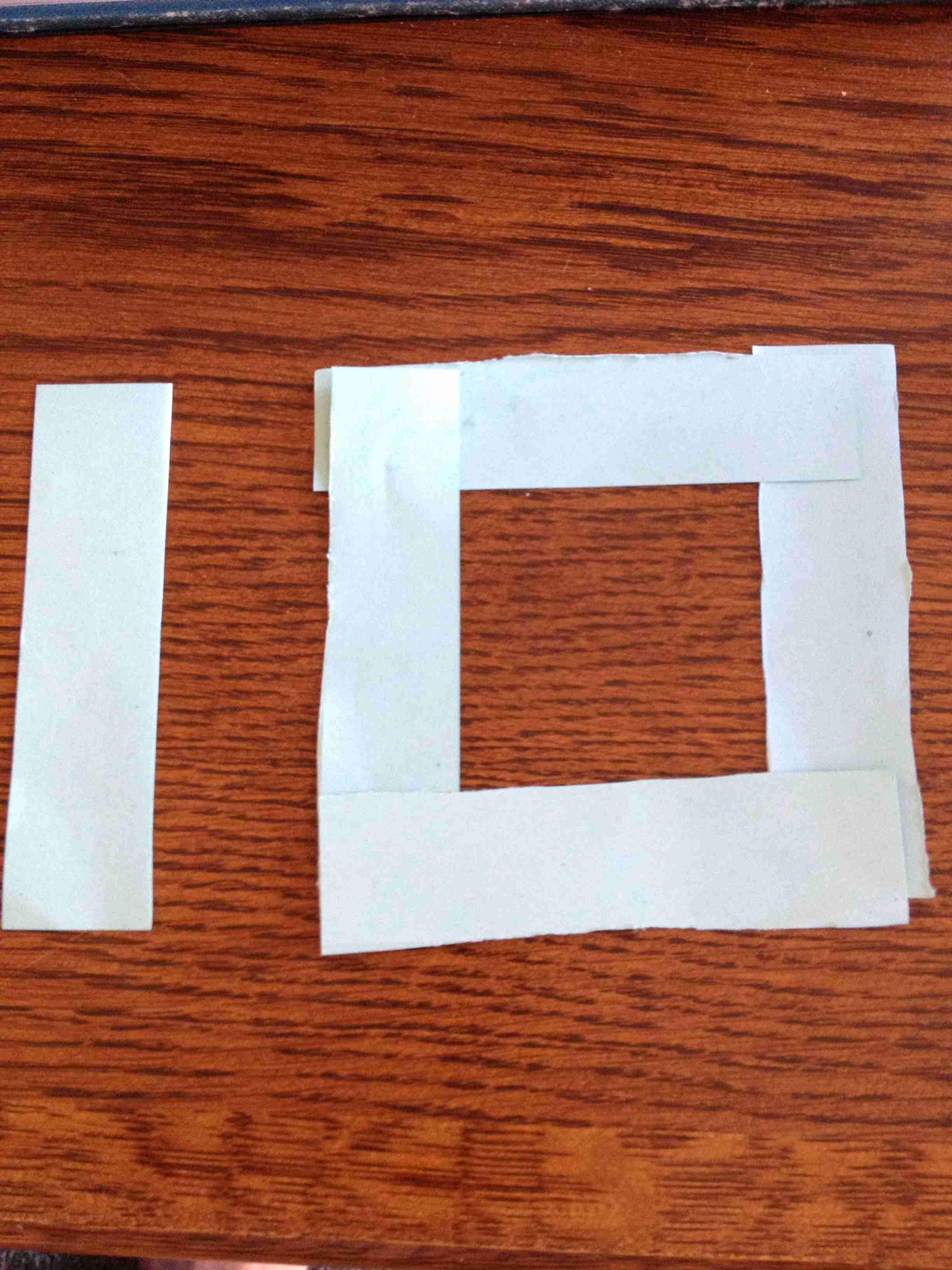 10 Commandments Paper Strips