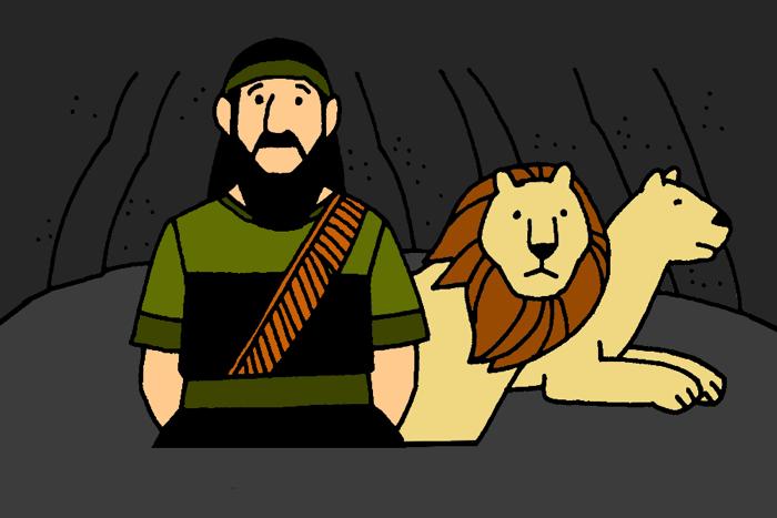 8_Daniel and Lions