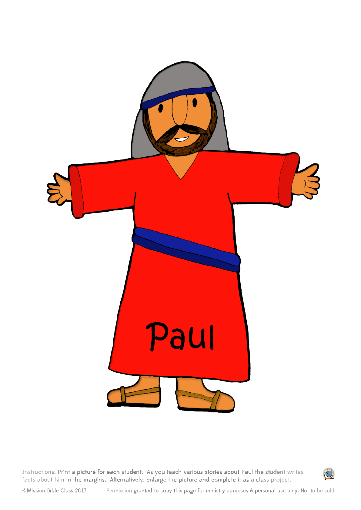 Paul Facts Poster