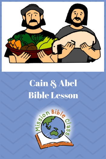 Cain and Abel Pin