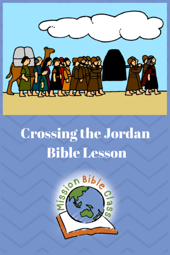 Crossing the Jordan Pin