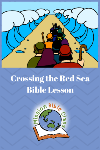 Crossing the Red Sea Pin