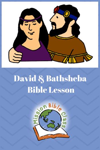 David_s Sin with Bathsheba Pin