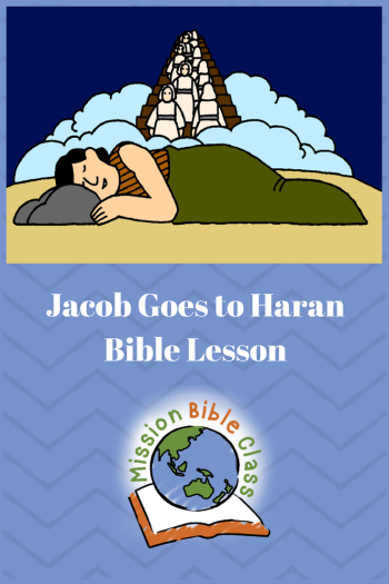 Jacob Goes to Haran Pin