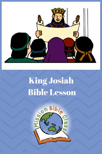 King Josiah Pin