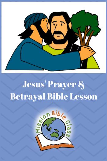 Night of Betrayal and Prayer Pin