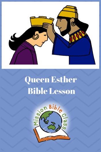 Queen Esther Pin