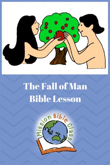The Fall of Man Pin