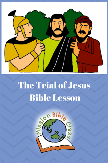 The Trial of Jesus Pin